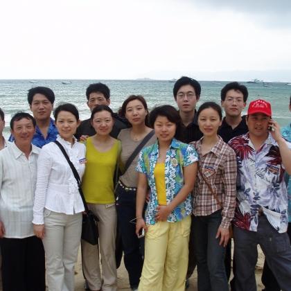 组织优秀员工旅游