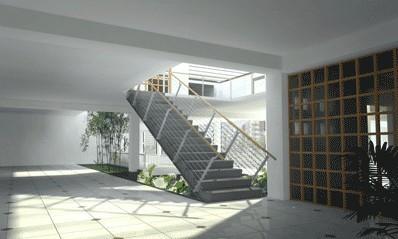 立体构成折纸房子步骤图
